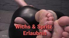 Wichs - & Spritz Erlaubnis!!
